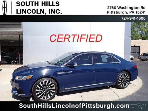 2018 Lincoln Continental Black Label image