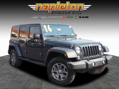 2016 Jeep Wrangler Unlimited Rubicon image