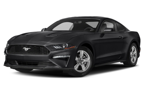 side view of the 2021 Ford Mustang