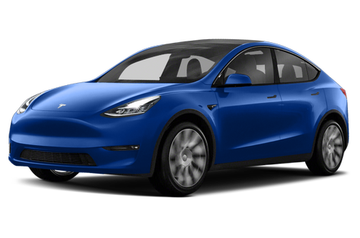 side view of the 2021 Tesla Model Y
