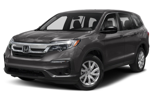 side view of the 2021 Honda Pilot