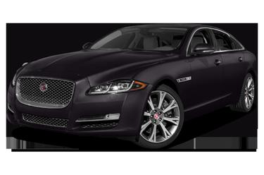 side view of 2016 XJ Jaguar
