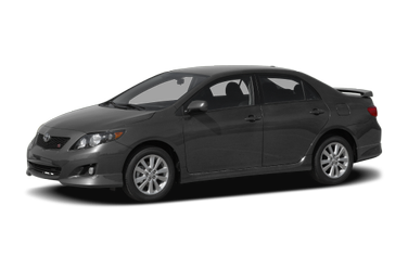 side view of 2010 Corolla Toyota