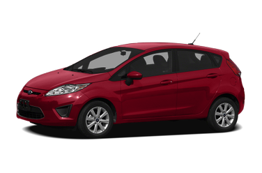 side view of 2012 Fiesta Ford