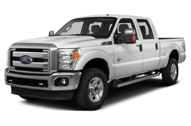 side view of 2016 F-350 Ford