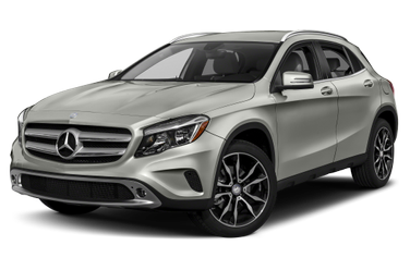 side view of 2017 GLA 250 Mercedes-Benz