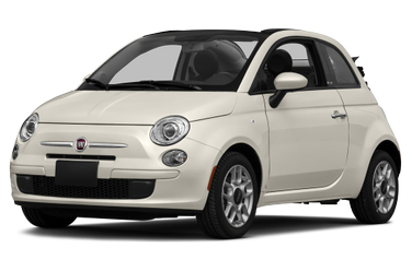 side view of 2015 500C FIAT