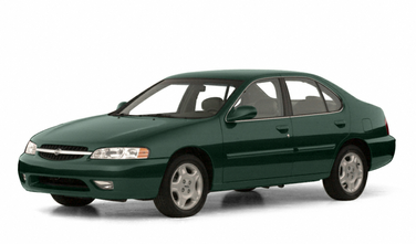 side view of 2001 Altima Nissan