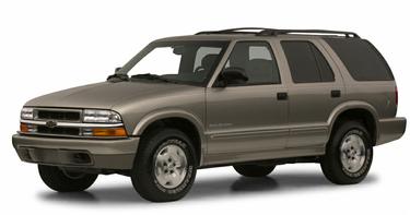 side view of 2001 Blazer Chevrolet