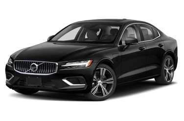 side view of 2021 S60 Recharge Plug-In Hybrid Volvo