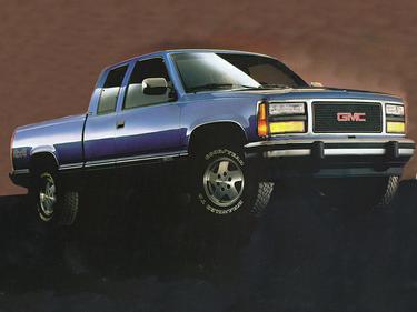 side view of 1992 Sierra 2500 GMC