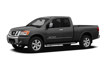 side view of 2012 Titan Nissan