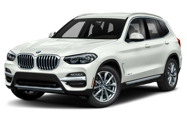 side view of 2018 X3 BMW