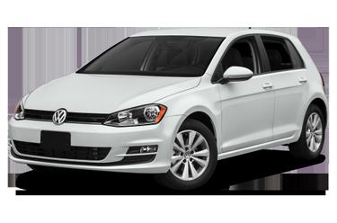 side view of 2017 Golf Volkswagen
