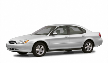 side view of 2002 Taurus Ford