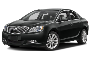 side view of 2017 Verano Buick