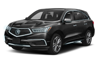 side view of 2019 MDX Acura