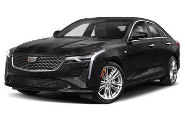 side view of 2020 CT4-V Cadillac