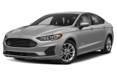 side view of 2019 Fusion Hybrid Ford