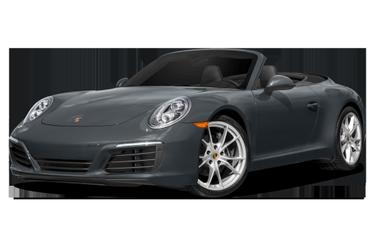 side view of 2017 911 Porsche