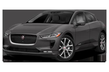 side view of 2019 I-PACE Jaguar