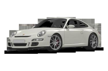 side view of 2008 911 Porsche