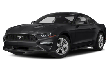 side view of 2020 Mustang Ford