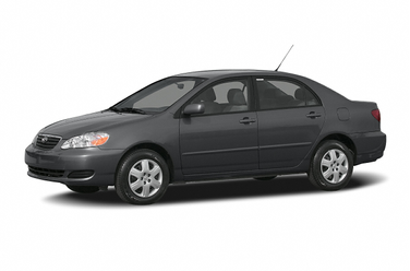 side view of 2007 Corolla Toyota