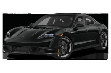 side view of 2020 Taycan Porsche