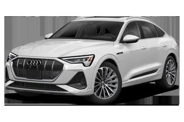 side view of 2021 e-tron Audi