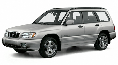 side view of 2001 Forester Subaru