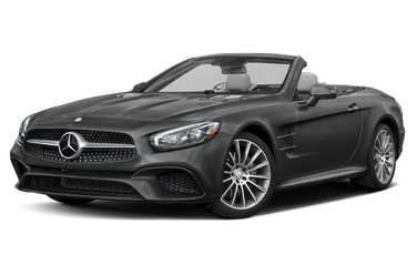 side view of 2020 SL 550 Mercedes-Benz