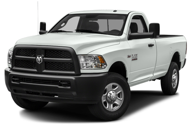 side view of 2018 3500 RAM