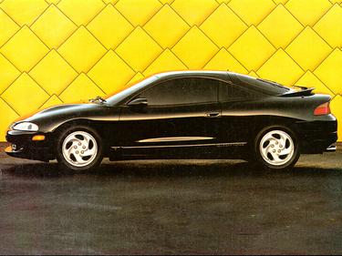 side view of 1995 Talon Eagle