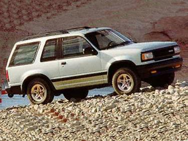 side view of 1994 Navajo Mazda