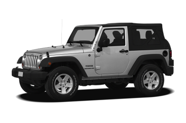 side view of 2012 Wrangler Jeep