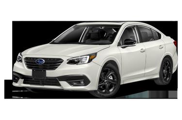 side view of 2021 Legacy Subaru