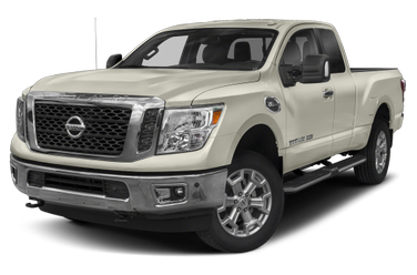 side view of 2017 Titan XD Nissan