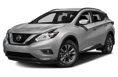 side view of 2015 Murano Nissan