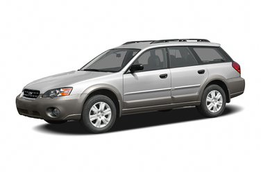 side view of 2006 Outback Subaru