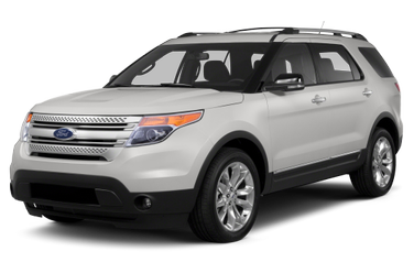 side view of 2013 Explorer Ford