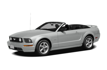 side view of 2009 Mustang Ford