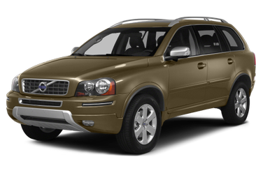 side view of 2014 XC90 Volvo