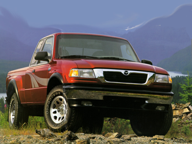 side view of 1998 B4000 Mazda