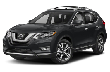 side view of 2017 Rogue Nissan