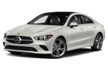 side view of 2020 CLA 250 Mercedes-Benz