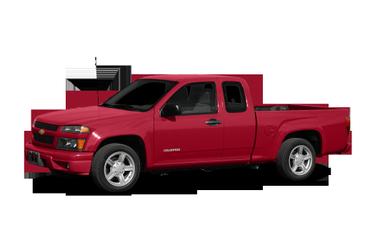side view of 2008 Colorado Chevrolet