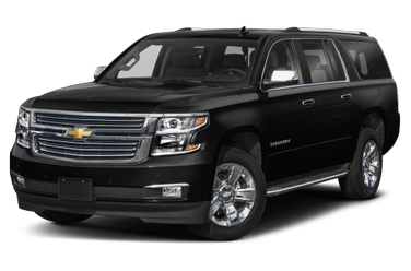 side view of 2018 Suburban Chevrolet