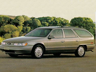 side view of 1992 Taurus Ford