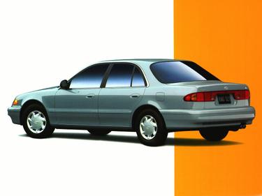 side view of 1997 Sonata Hyundai